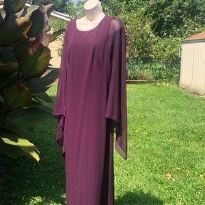Calvin Klein Plum Evening Gown!!! 👗